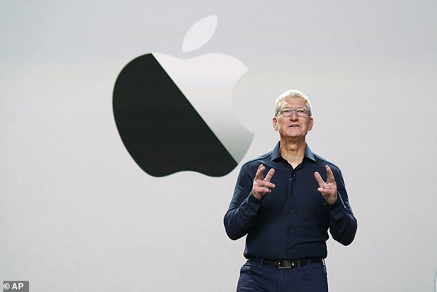 CEO Tim Cook tweeted thatApple's entire business will be carbon neutral by the year 2030. 'The planet we share can't wait, and we want to be a ripple in the pond that creates a much larger change,' he said