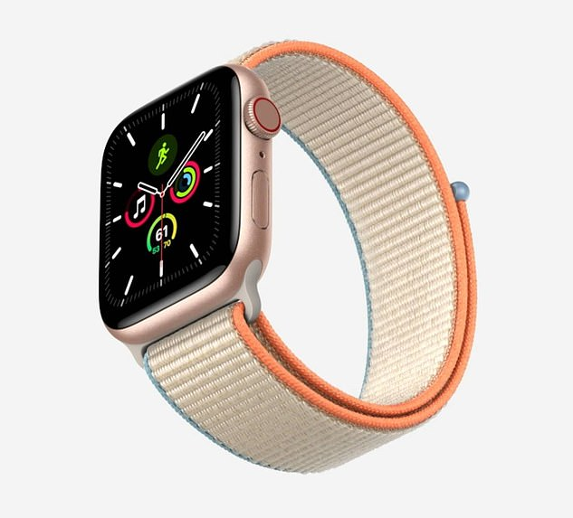 Along with the updated Apple Watch, the firm announced the Watch SE. This model boast the same features of last year's Series S5, but is only $279 - compared to the $399 price tag of the Series 6.