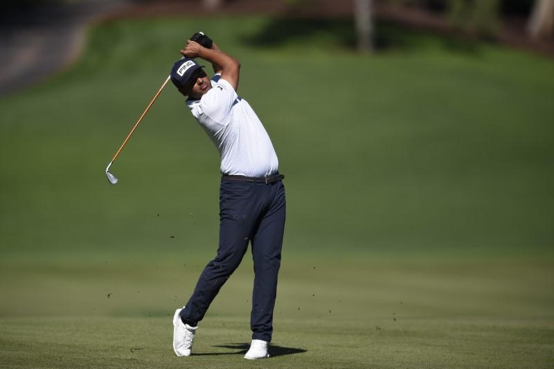 © Reuters. FILE PHOTO: PGA: CJ Cup - Third Round