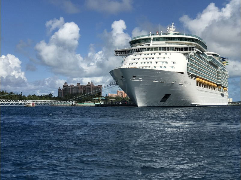 Royal Caribbean's Mariner of the Seas in Nassau