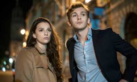 Characters you can bank on ... Marisa Abela and Harry Lawtey as Yasmin and Robert in Industry.