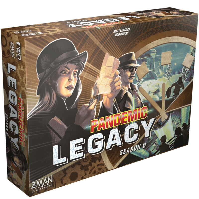 One hell of a send-off: Pandemic Legacy: Season 0 wraps a stylish board game series