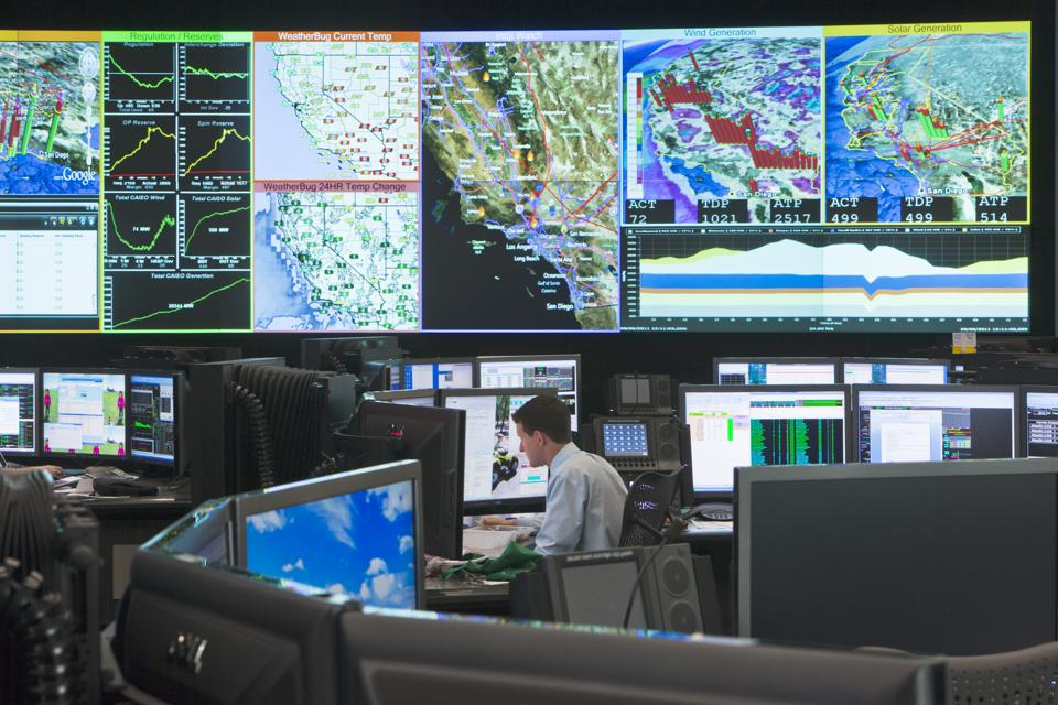 California: Control room at California ISO