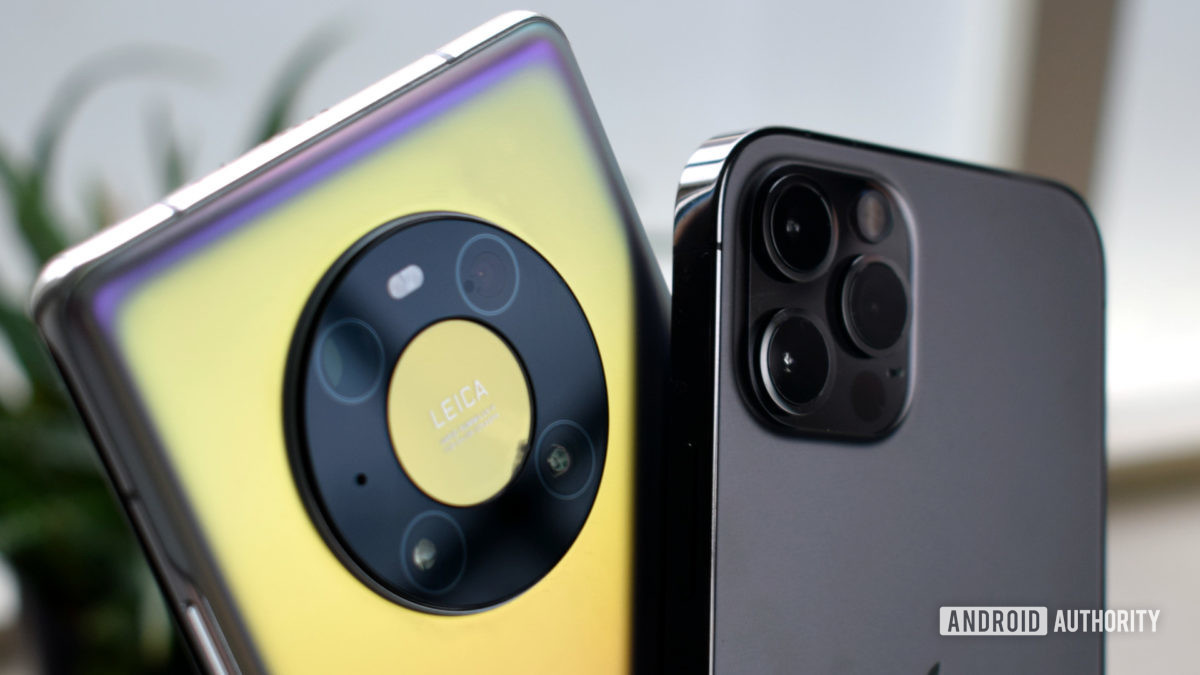 Huawei Mate 40 Pro vs Apple iPhone 12 Pro cameras EOY 2020