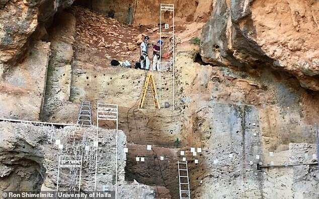 Tabun Cave was first excavated in the 1920s and artifacts there date back at least 500,000 years.Flint fragments on the site have provided the earliest signs of humans controlling fire