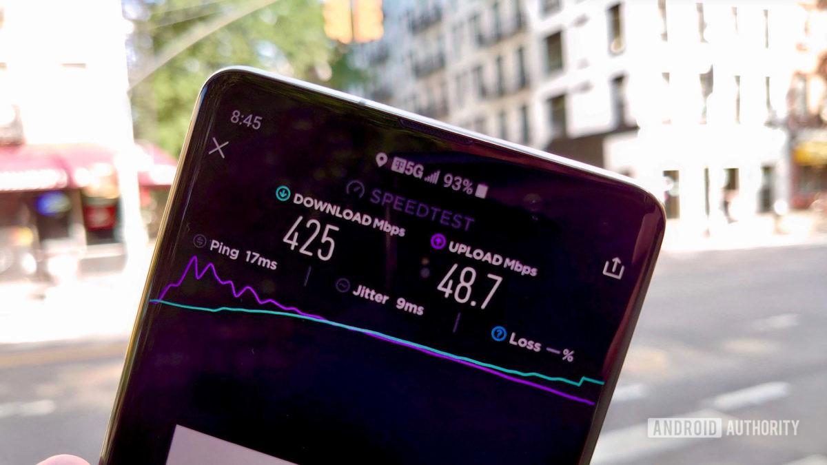 T-Mobile 5G Review Speed Test Number 2