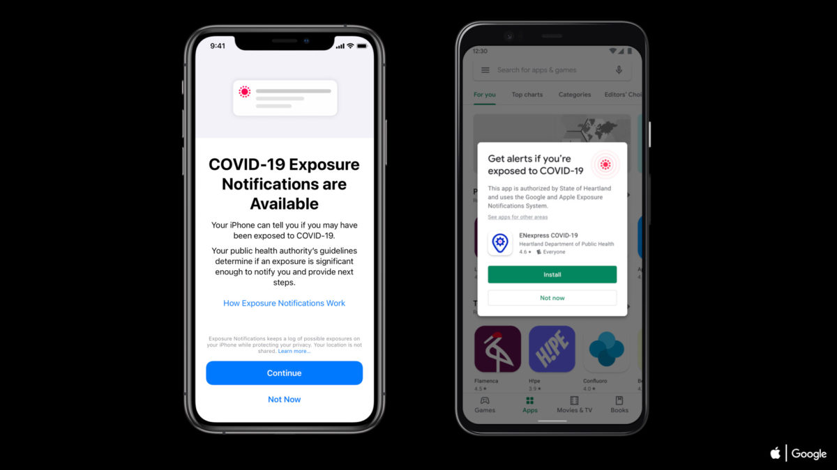 covid 19 exposure notifications express android ios iphone