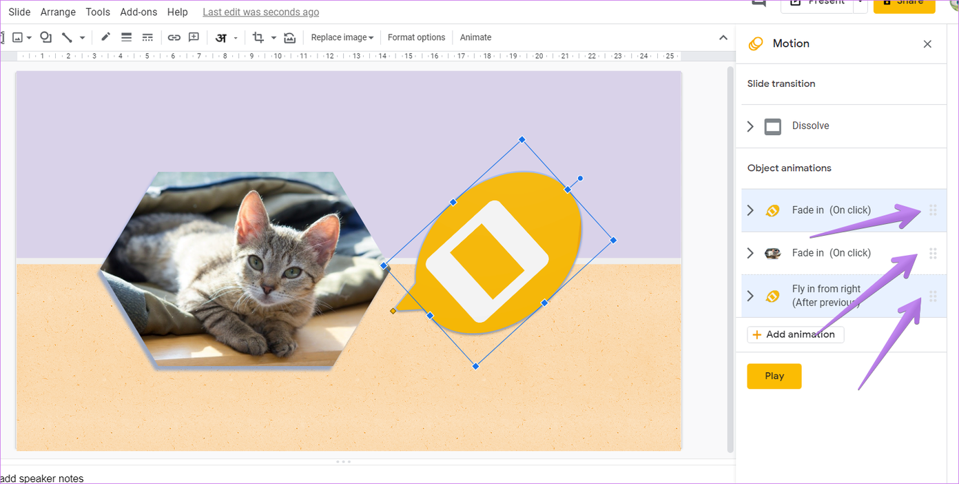 Google slides animation tips tricks 7