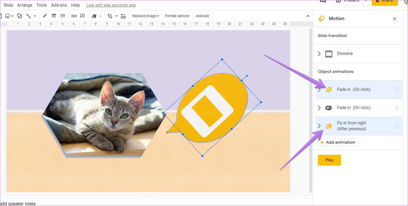 Google slides animation tips tricks 9