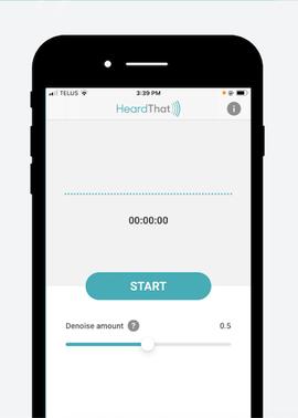 HeardThat app