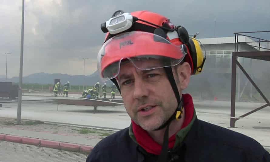 James Le Mesurier, the White Helmets founder who died in Istanbul.
