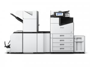 Epson WorkForce Enterprise Colour Multifunction Printer - 100 ppm with Booklet finisher