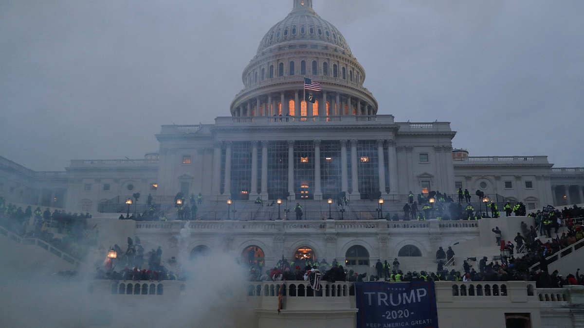 National security concerns raised as Trump loyalists storm US Capitol