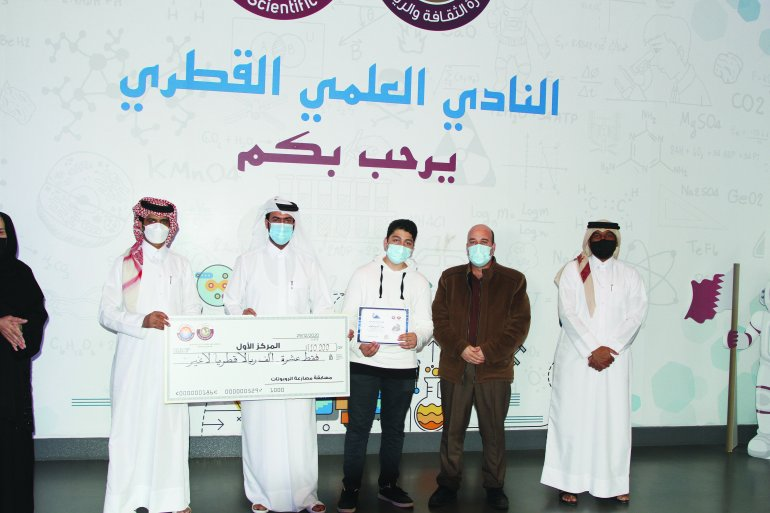 QSC honours winners of robot wrestling contest for students