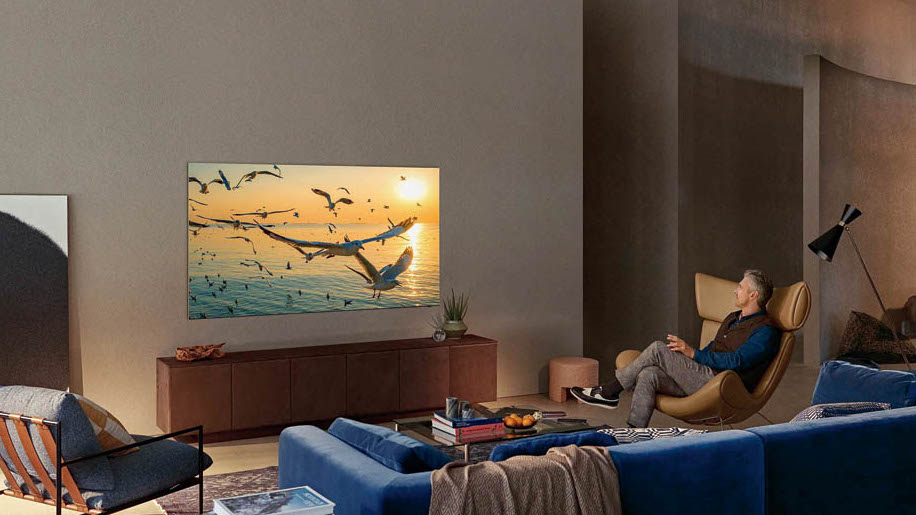 Samsung is introducing a new display technology, Neo QLED, to its flagship 8K (QN900A) and 4K (QN90A) models.