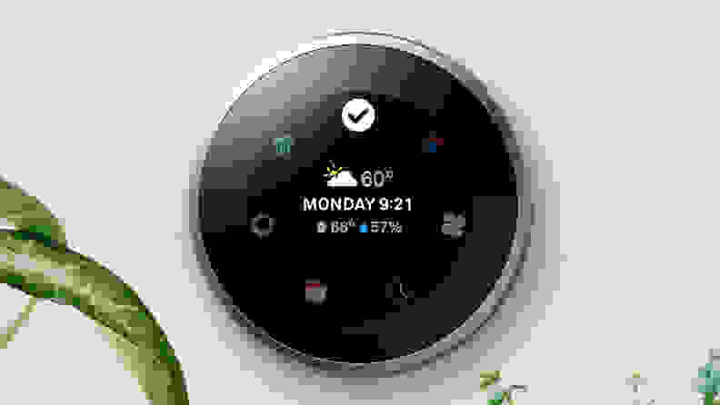 Nest Learning Thermostat weather