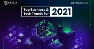 Klizo's Tech Trends to Rule 2021
