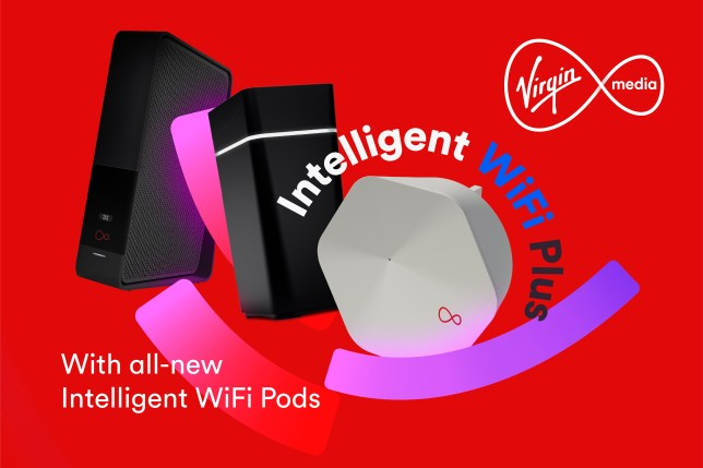 Virgin Media's new Intelligent Wifi Plus service is available to customers to make their network faster (Virgin Media)