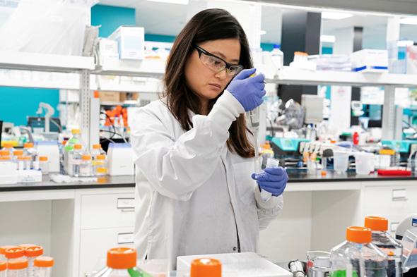 Scientist. Photo: Reuters