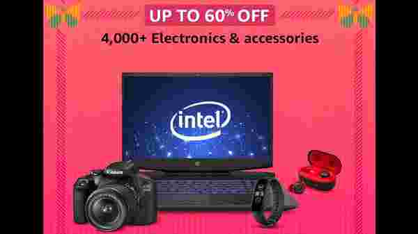Up To 60% Off On Electronics And Accessories