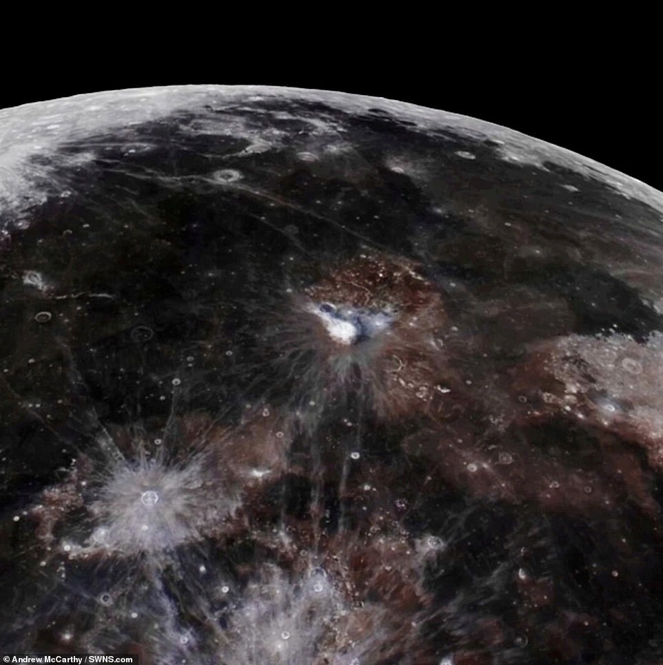 When a month is compressed into 24 seconds, as it is in Andrew's video, our changing view of the Moon makes it look like it's wobbling