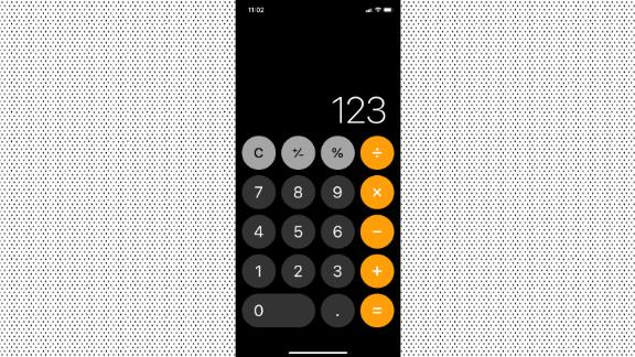 Clear numbers in Calculator with a swipe