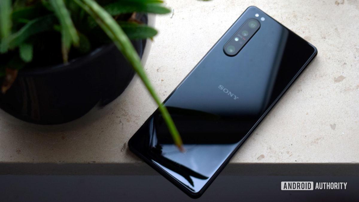 Sony Xperia 1 II back