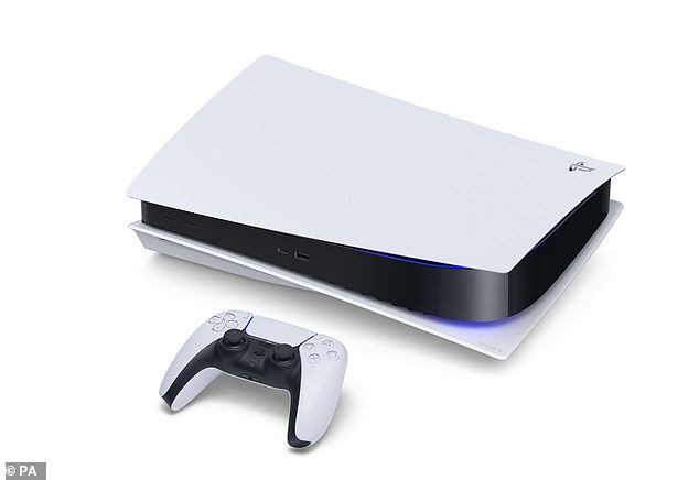 Console games earnings jumped more than a quarter, likely fueled by the arrival of the Playstation 5 (pictured) and Xbox Series X