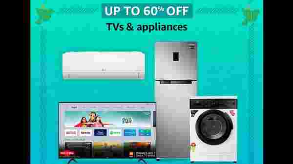 Up To 60% Off On TVs And Appliances
