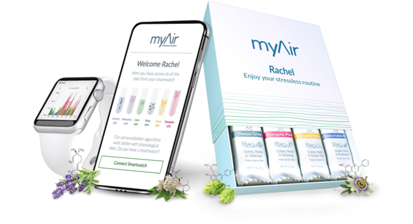 myAir blends natural ingredients with artificial intelligence. Photo: myAir