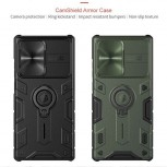 Cases with a sliding cover for the camera
