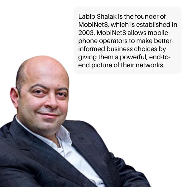Labib Shalak Lebanese Entrepreneur