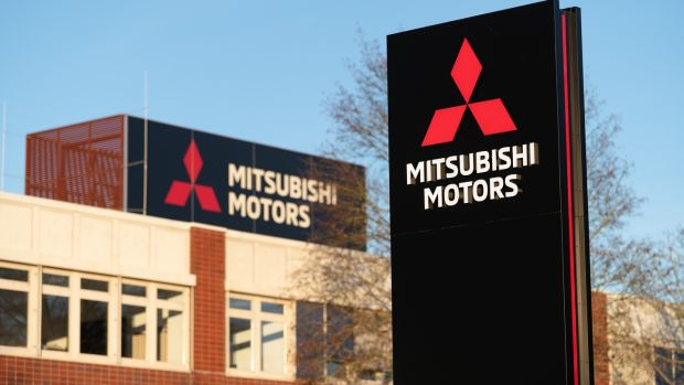 Mitsubishi will, in 2021, wind up its Irish operations, just as it will in the rest of Europe and the UK. Photograph: Silas Stein/dpa/AFP