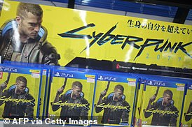 Cyberpunk 2077 was one of the top-selling games of 2020