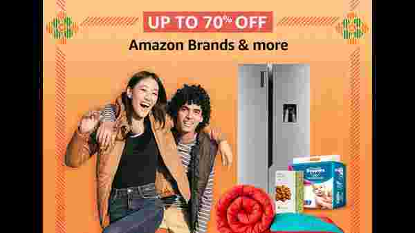 Up To 70% Off On Amazon Brands And More