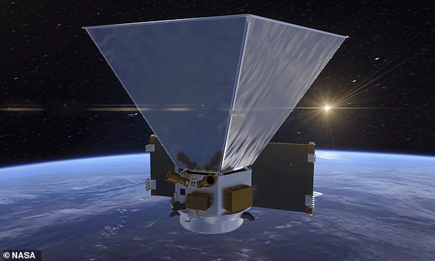 The space telescope is fitted with instruments to detect infrared light that is invisible to the human eye. This data can reveal what objects are made of, as well as their distance from Earth