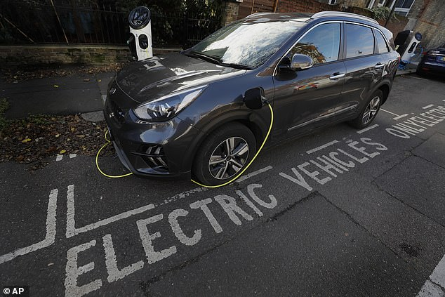 Some zero-emission vehicles have to be driven for almost 50,000 miles before they are as 'green' as cars powered by fossil fuels (file photo)