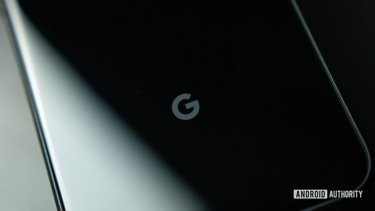 Google Logo Pixel 4
