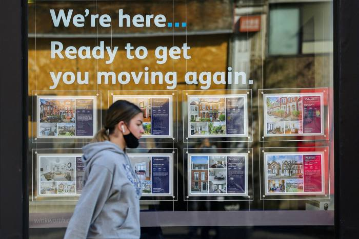 Estate agents predict a sharp drop in sales when the stamp duty holiday ends on March 31