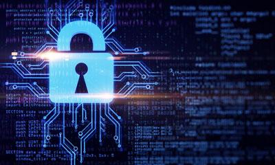 cybersecurity stock image