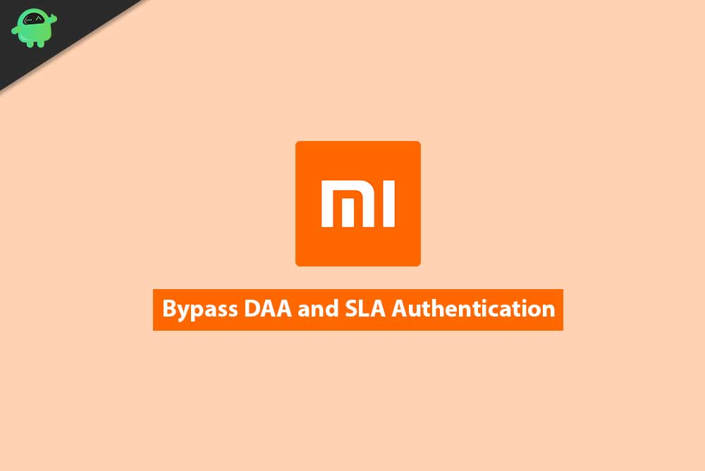 Bypass DAA and SLA Authentication on Xiaomi