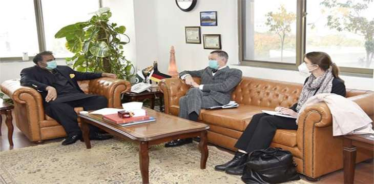 Fawad, German envoy discuss cooperation in field of science, technology