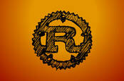 A sketch of the Rust programming language logo
