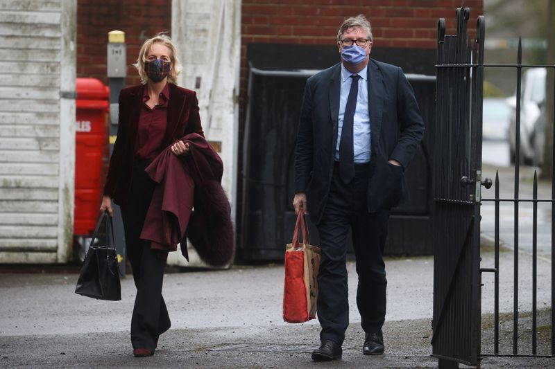 Hedge fund boss Odey 'lunged' at woman in 1998 indecent assault, trial hears