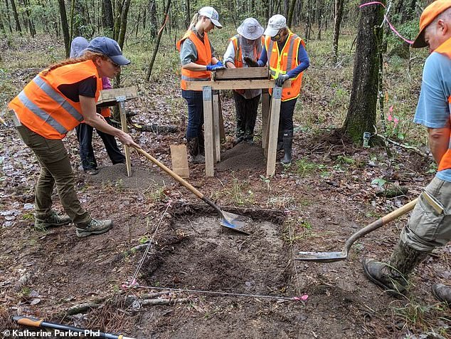 Volunteers trudging through Hell Hole Swamp in South Carolina's Lowcountry discovered the remains of a moonshine still they believe was owned by one of Al Capone's bootleggers
