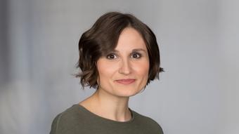 DW business reporter Kate Ferguson
