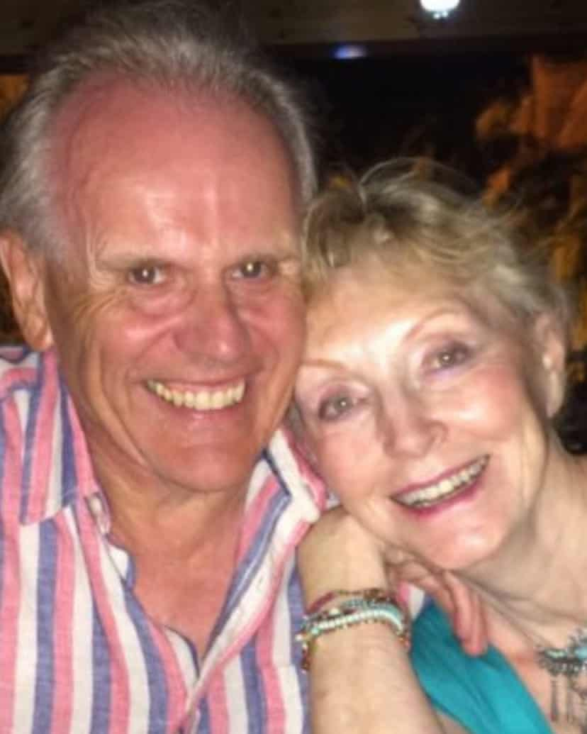 Tom Misselbrook and his wife Hazel.