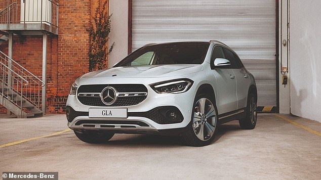 Mercedes-Benz said that it will notify affected owners and update the software systems at no charge, according to filings with the U.S. Department of Transportation. It expects to begin the recall on April 6. Pictured is a GLA that is included in the recall