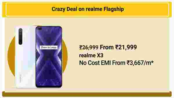 17% Off On Realme X3